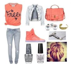 """Fashion set that makes very teens, The simple T-Shirt """"Free"""" gives a romantic side Fashion set that makes very teens, The simple T-Shirt """"Free"""" gives a romantic side … I Love Fashion, Teen Fashion, Passion For Fashion, Fashion Outfits, Womens Fashion, Mode Swag, Casual Outfits, Summer Outfits, One Direction Louis"""