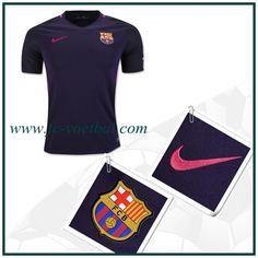 Replica Barcelona Uitshirt Purper Nike 2016 2017 Kopen