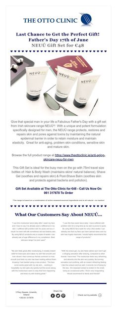 Last Chance to Get the Perfect Gift! Father's Day of June NEUÚ Gift Set for Travel Size Bottles, Shave Gel, Last Chance, Facials, Skin Problems, Body Wash, Travel Size Products, Sensitive Skin, Fathers Day