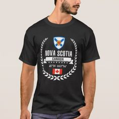 #Nova Scotia T-Shirt - #travel #clothing