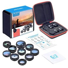 Welcome to my pros and drawbacks consumer reports of the Apexel 10 in 1 Cell Phone Camera Lens Kit Wide Angle Lens & Macro Lens+Fisheye Lens+Telephoto Lens+CPL/Flow/Radial/Star Filter+Kaleidoscope 3/6 Lens for iPhone Samsung Sony and Most of Smartphone . My objective in this review will ...