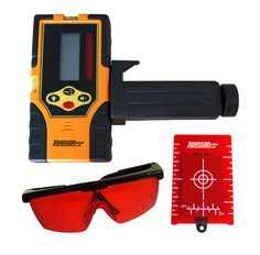 Johnson Level 40-6720 Red Beam Universal Detector Kit