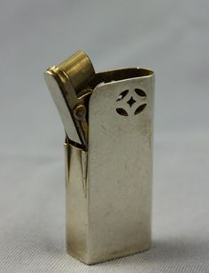 VERY RARE Sterling Silver Dunhill Unity petrol wick lighter Small size | eBay