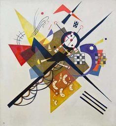 Global Gallery 'On White II' by Wassily Kandinsky Graphic Art on Wrapped Canvas Wassily Kandinsky, Klimt, Painting Frames, Painting Prints, Fine Art Prints, Canvas Wall Art, Canvas Prints, Framed Prints, Musée National D'art Moderne