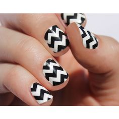 Black Chevron Nail Wraps ($8) ❤ liked on Polyvore featuring beauty products, nail care, nail treatments, nails, makeup, blow dryer and hair blow dryer