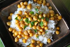 #Quick+Versatile Stir-Fried Chickpeas #recipe from food from the 12 #vegetarian #vegan
