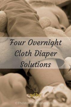 Four Overnight Cloth Diaper Solutions