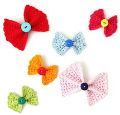 13.crochet bow free patterns