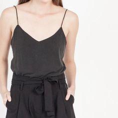 Modern Citizen | Modern Citizen  |  Rena Washed Jersey Camisole (Black) - 1 $23
