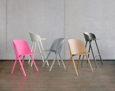 Fauteuil bas en plaqué bois THAT By design Stefan Diez Nachhaltiges Design, Chair Design, Furniture Design, Interior Design, Milan Design, Bar Chairs, Side Chairs, Dining Chairs, Wooden Chairs