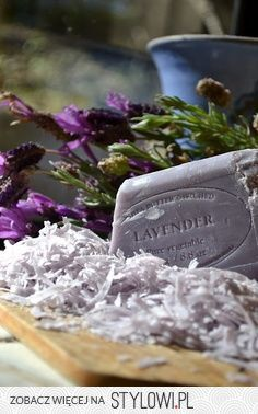 Silky, smooth, relaxing lavender soap.