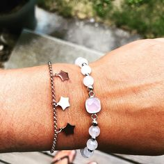 ★ You Are My Star ★ show your mom your gratitude with this tiny star bracelet! Made with stainless steel, three stars are dangling in the… Star Show, Tiny Star, Little Things, Gratitude, Dangles, Stainless Steel, Mom, Stars, Spring