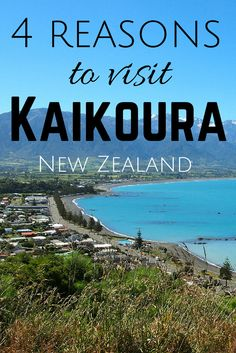 The quiet coastal town of Kaikoura, where the mountains meet the sea, is one of my favorite places to visit in New Zealand.