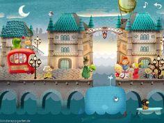 Interaktives Kinderbuch iPad Apps Kleiner Fuchs Wimmelbuch Apps (16)