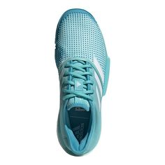 official photos fa65f 24e2a adidas Men s Solecourt Boost Parley Tennis Shoes - Blue White