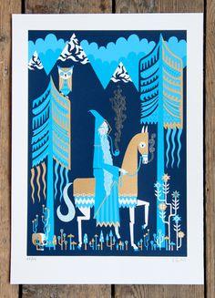 Folk-inspired illustrations by Stuart Kolakovic | OTHER FOCUS