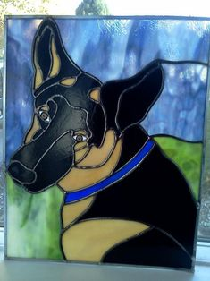 Bullet - Delphi Stained Glass