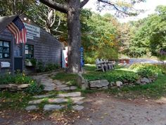 Recompence Shore Campground - check in, great campground, close to Freeport ME, beautiful views and affordable
