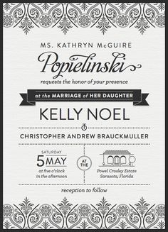 41 best wedding invitations images on pinterest wedding stationery 30 uniquely designed wedding invitations stopboris Image collections