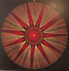 Mandala Art, Mandala Design, String Art Templates, String Art Patterns, Nail String Art, Art Worksheets, Spirograph, Horse Sculpture, Abstract Wall Art