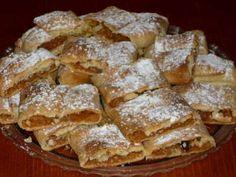 Domácí jablečný závin z nelistového těsta | sRecepty.CZ Cookie Designs, Strudel, No Bake Cookies, Apple Pie, Sweet Recipes, French Toast, Bakery, Cheesecake, Deserts