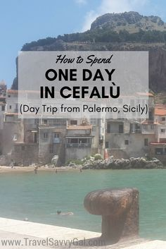 Cefalù is a perfect day trip from Palermo, Sicily. It's a great spot because there is quite a lot to see and do – hiking and adventure, tons of shopping, & plenty of beach – so you can have a day as active or as relaxing as you'd like. Head to the blog to find out all the best things you can enjoy there!
