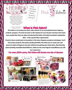 Pink Zebra Home Independent Consultant. Buy Pink Zebra Sprinkles online or start your own home candle business by joining as a consultant.