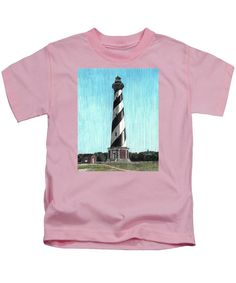 Cape Hatteras Lighthouse - Kids T-Shirt
