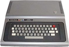 My first computer- the The Tandy TRS-80