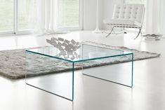 Lage Glazen Tafel.15 Beste Afbeeldingen Van Glazen Salontafels Glazen