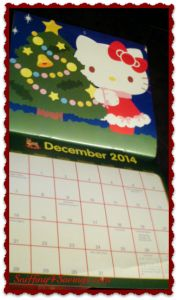 Hello Kitty 2014 Mini Calendar