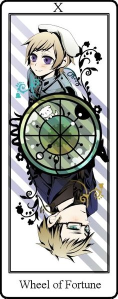 "No, that's not the wheel of fortune, it's that type of rulette where is written ""will they or won't?"". Himaruya is probably too lazy to spin it, so he keeps everything unclear and we are still waiting for an answer,"