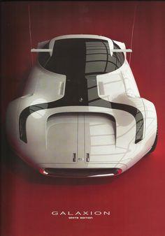 Daniel Simon's Galaxion car from Cosmic Motors