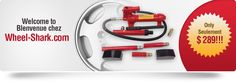 http://www.wheel-shark.com/product/wheel-shark-wheel-straightening-tool/   Wheel straightening tool essential package is a great tool for existing garages and workshops. You will receive the straightening tool itself with metal casing.  v