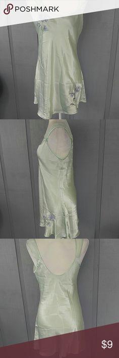 Inner Mode lingerie gown Seafoam green satin gown inner most Intimates & Sleepwear Chemises & Slips