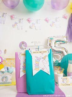 bolsas fiesta unicornios