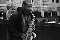 Street Saxophonist Charlotte, NC March 2015