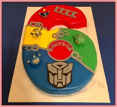 Rescue Bots Birthday  on Cake Central