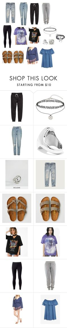 """sarah baska style essentials (pt.2)"" by novaturient98 ❤ liked on Polyvore featuring H&M, Miss Selfridge, Topshop, Jennifer Fisher, DesignB London, Abercrombie & Fitch, American Eagle Outfitters, Jockey, Faithfull and Monki"