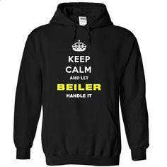 Keep Calm And Let Beiler Handle It - #school shirt #sweatshirt menswear. ORDER HERE => https://www.sunfrog.com/Names/Keep-Calm-And-Let-Beiler-Handle-It-tjamv-Black-12991819-Hoodie.html?68278