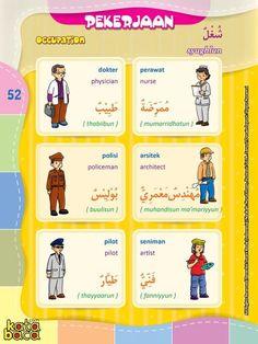 Baca Online Kamus Pintar Bergambar 3 Bahasa adalah buku kamus bergambar full warna dalam 3 bahasa: Indonesia, Inggris, dan Arab untuk anak.