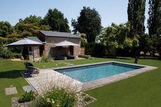 #piscine #beton #Caron #Classique #detente