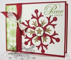 Gotta love a little GLIMMER paper for the holidays!!