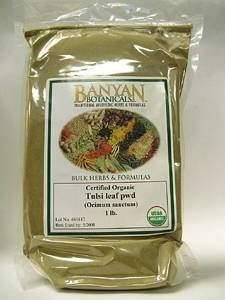 Tulsi - Organic, 1 lb,(Banyan Botanicals) by Banyan Botanicals. $23.30. Commonly known as holy basil, this herb is used in Ayurveda as a heart tonic and to purify and invigorate the body and mind.