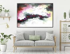 Extra Large Wall Art Original Abstract Painting on Canvas , Large Abstract Painting, Contemporary Wall Art, Large Original Painting Large Wall Canvas, Large Abstract Wall Art, Extra Large Wall Art, Canvas Art Prints, Canvas Wall Art, Canvas Paintings, Bathroom Paintings, Artwork Wall, Modern Oil Painting