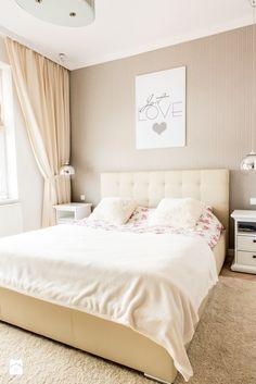 Kamienica Giżycko - Średnia sypialnia małżeńska, styl glamour - zdjęcie od betterthings