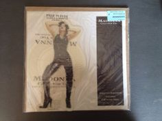 Madonna Crazy For You UK PICTURE DISC SHAPE W0008P MDNA