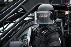 Portrait d'un gendarme du GIGN aux JSI 2009 [Ref:1009-02-0462]