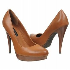 Calvin Klein Jeans Emily Shoes (Dark Tan Leather) - Women's Shoes - 39.5 B