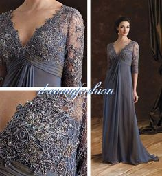 Custom made 2014 Gorgeous hot sale vestido de madrinha Vintage Lace Plus Size Mother Of The Bride Dresses